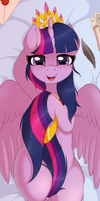 Twilight Dakimakura Front by RatofDrawn