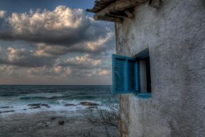 Window to the sea by ArtSpawnGr