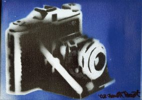 Vintage Camera by Bennedetto