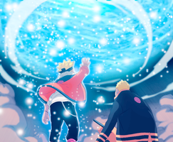 Boruto-new-Age-Naruto-and-Boruto by GEVDANO