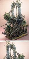 Skaven Plague Furnace by HomeOfCadaver