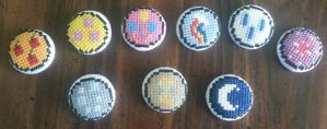 MLP Cutie Mark buttons by Sew-Madd