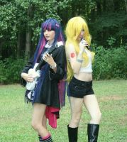 D-City Rock Panty and Stocking by HK-Sayaka