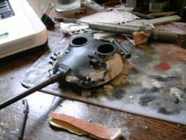 Tamiya 1/35 T-62 Progress report 2.4 by DelosQAndrews