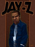 JAY-Z by RC-draws