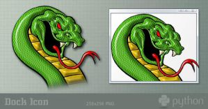 Python Programming - Dock Icon by ssx