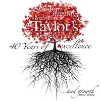Logo Design for Taylor's 40th by HarleyQuinnade