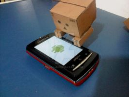 Danbo and My Droid by Arc48