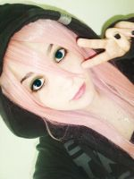 .Luka wig cosplay. by Nowii