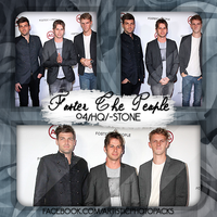 -Photopack Foster The People 01 by SomeoneInTheForest