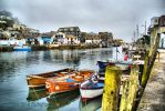 Boats at Looe by Deb-e-ann