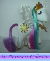 My little Pony Custom G4 FIM G1 Princess Celestia by BerryMouse