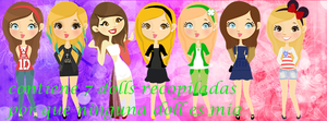 pack de dolls by catinista