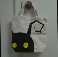 Kingdom Hearts Heartless Tote by ShadowSeason