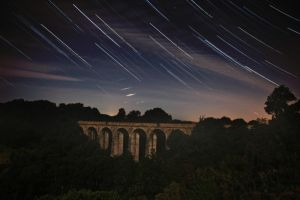 Startrail and Shooting Stars by CumbriaCam