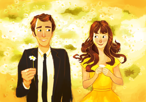 Pushing Daisies by AngHuiQing