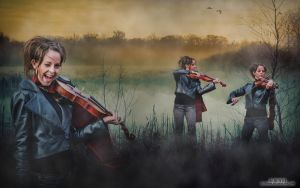 Lindsey Stirling__wallpaper by juztkiwi