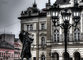Novi Sad main square by mmirkovic