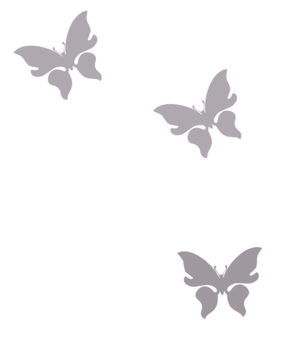 Gray butterfly PNG by KatuuEdits00
