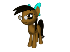 Me as a Pony in 3D by AquaAurora97