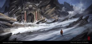 The Lost Doors of Ebdrin by Dabana