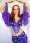 Ameynra belly dance star model Sofia Goldberg by SOFIAMETALQUEEN