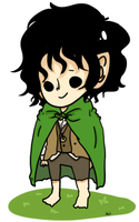 LOTR- Frodo Baggins by StrawHatAna