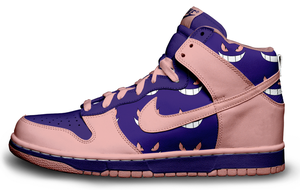 Pokemon Gengar Nike Dunks by roobarbcrumble