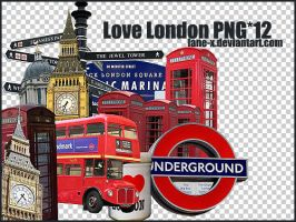 love London PNGx12 by Lane-X