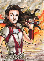 Lady Sif [Day 16] by wondering-souls