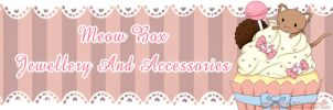 New cupcake kitty banner by Meow-Box