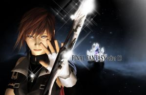 final fantasy after 13 wallpaper by SerenaKaori87