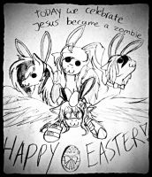 HAPPY EASTER!!! by WhiteNoiseGhost