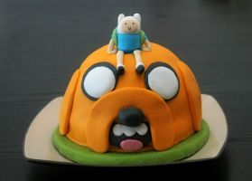 Adventure time cake by Carrotita