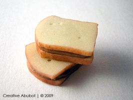 My 1st Polymer PB Sandwich by CreativeAbubot