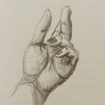 hand sketch by anibalkenobi