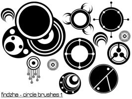 vector circle brushes1 by findzha