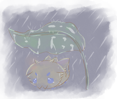Crying under the Rain by poke-helioptile294