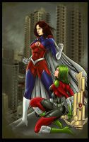 Heroines I by John Becaro by jhansard