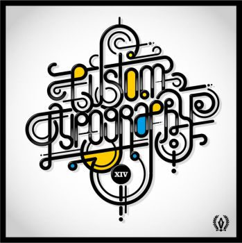 CUSTOM TYPOGRAPHY by AtixVector