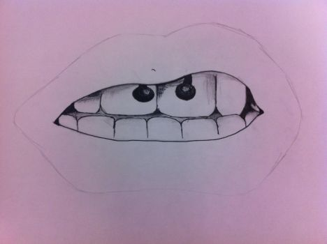 WIP : Smiley Piercing by LoveAndDimples