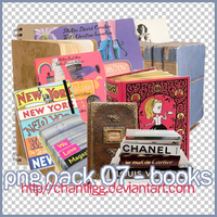 PNG PACK 07 - BOOKS by ChantiiGG