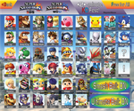Super Smash Bros. 4: Ultimate Roster by MagnetarMaster