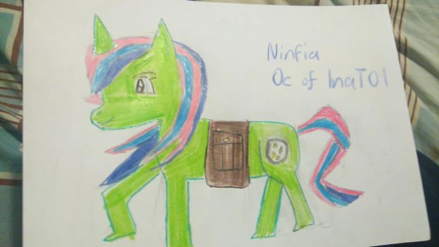 Contest: Oc NINFIA of inat01 by vocaloidninja1999