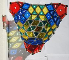 Geomag Triangle Bowl skyview by longlivelol