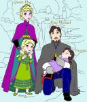 Elsa and Michael searchs to helping her daughters by Astrogirl500