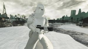 Snowtrooper by CptRex