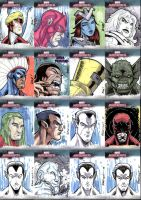 Marvel Masterpieces III Set 4 by RAHeight2002-2012