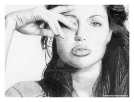 Angelina Jolie by buzveatesh
