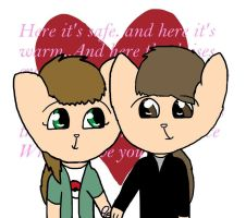 Together Forever Edited Brian by Rosiehamster